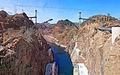 Hoover Dam Bypass Bridge Construction - May 3, 2009.jpg