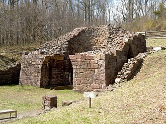 Hopewell Furnace National Historic Site - Image: Hopewell Anthracite Furnace