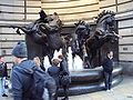 Horses near Piccadilly Circus - DSC04243.JPG