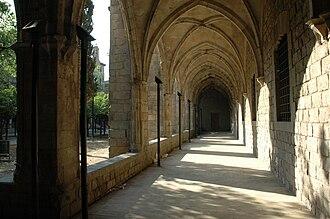 Old Hospital de la Santa Creu, Barcelona - Cloister gallery