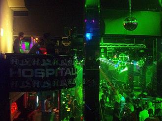 Hospital Records - A Hospitality night at Heaven Ibiza, 2007