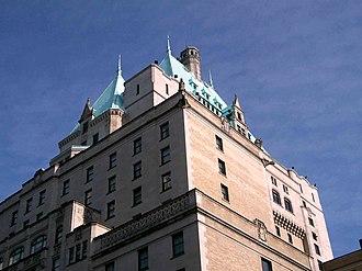 Hotel Vancouver - Image: Hot Van detail