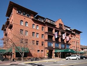 Hotel Boulderado - Image: Hotel Boulderado Boulder CO