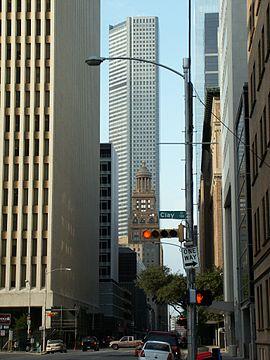 Jpmorgan Chase Tower Houston Wikip 233 Dia