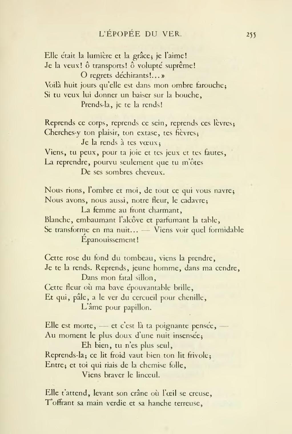 Pagehugo œuvres Complètes Impr Nat Poésie Tome V