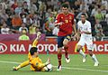 Hugo Lloris and Cesc Fàbregas Spain-France Euro 2012.jpg