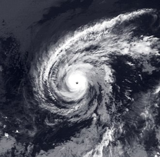 1982 Pacific hurricane season - Image: Hurricane Norman Sep 14 1982 0545Z