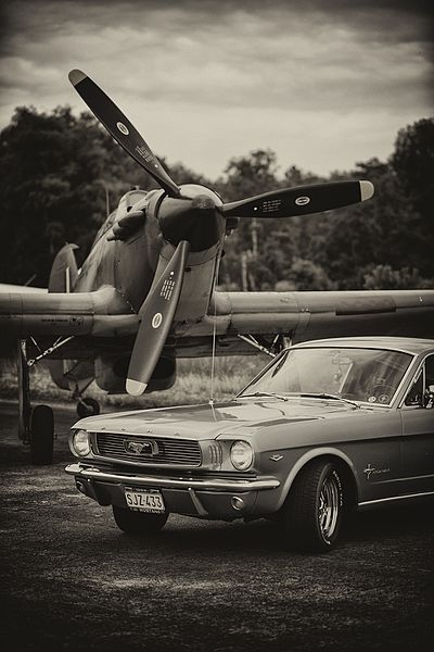 Hurricane and the Mustang