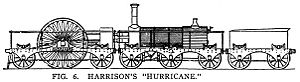 GWR Hurricane locomotive - Image: Hurricane loco