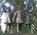 Hussainiwala boarder statues.jpg
