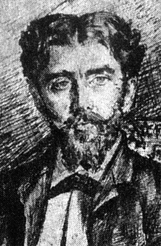 Ion Mincu - Portrait of Mincu by I.Georgescu ca.1880