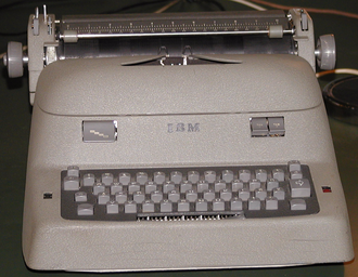 IBM Electric typewriter - IBM Electric typewriter from the 1950s