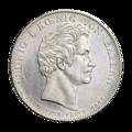 INC-c758-a Талер Бавария Людвиг I 1828 г. (аверс).png
