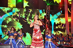 Kareena Kapoor performs at the opening ceremony of IPL 2012.