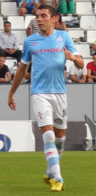 Iago Aspas - Aspas playing for Celta in 2012