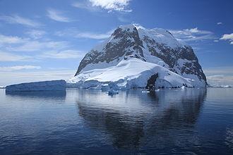Booth Island - Icebergs and Booth Island
