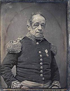 South American military commander/politician