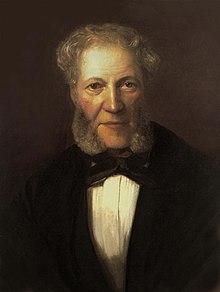 Moscheles, from a portrait by his son Felix Moscheles, c. 1860. (Source: Wikimedia)