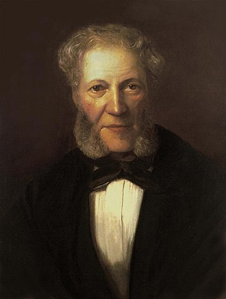 Ignaz Moscheles - Moscheles, from a portrait by his son Felix Moscheles, c. 1860.