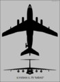 Ilyushin Il-78 Midas two-view silhouette.png
