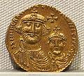 Impero romano d'oriente, eraclio con eraclio costantino, emissione aurea, 613-638, 01.JPG