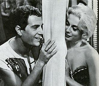 Anna Maria Ferrero - Nino Manfredi and Ferrero in The Employee (1960)