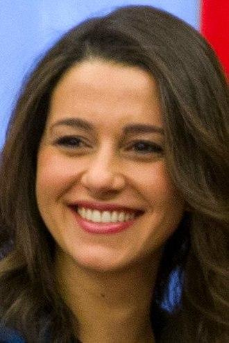 2015 Catalan regional election - Image: Inés Arrimadas 2017b (cropped)
