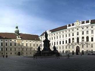 House of Habsburg - Image: In der Burg Jan 2008 pano