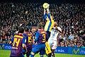 In the air, Barça Mallorca.jpg