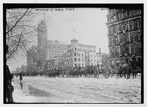Inauguration of William Howard Taft - Inaugural parade for Taft on Pennsylvania Ave.