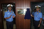 Inauguration of Integrated Automatic Aviation Meteorological Systems (IAAMS) at INS Garuda 01.jpg
