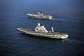 Indian Navy's aircraft carriers INS Viraat and Vikramaditya.jpg