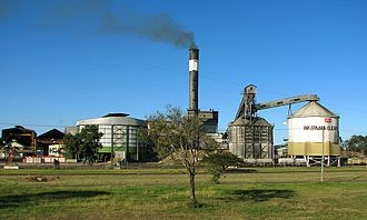 Sugar cane mill - Inkerman sugar mill in Australia