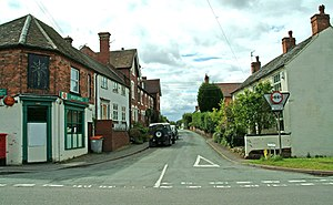 Hartlebury - Image: Inn Lane, Hartlebury