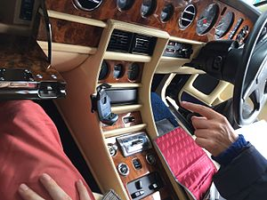 Bentley Turbo R - Bentley Turbo R Interior