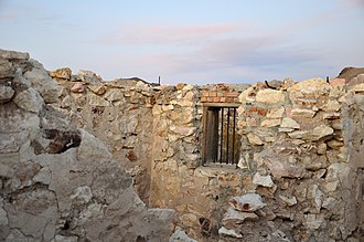 Bullfrog, Nevada - Ruins of the Bullfrog Jail