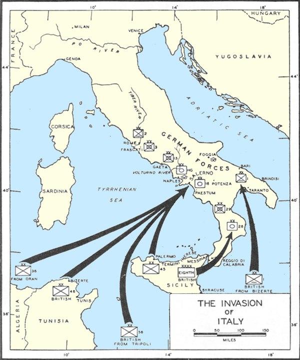 Invasionen Af Italien Wikiwand