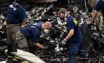Investigators combing through wreckage from UPS flight 1354 (9518977192).jpg