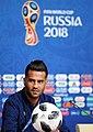 Iran-Morocco 2018 FIFA World Cup press conference 6.jpg