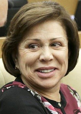 Irina Rodnina - Irina Rodnina in 2018