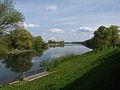 Irlbach am Schöpfwerk Irlbach in die Donau.jpg