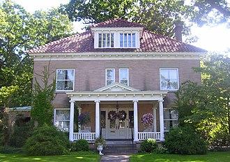 Irving Langmuir - Langmuir's house in Schenectady