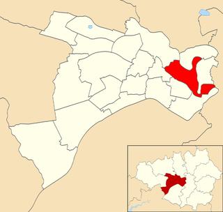 Irwell Riverside (ward) Electoral ward in England
