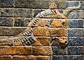 Ishtar Gate of Babylon, 6th cent. BCE, Ny Carlsberg Glyptotek, Copenhagen (1) (35584498584).jpg