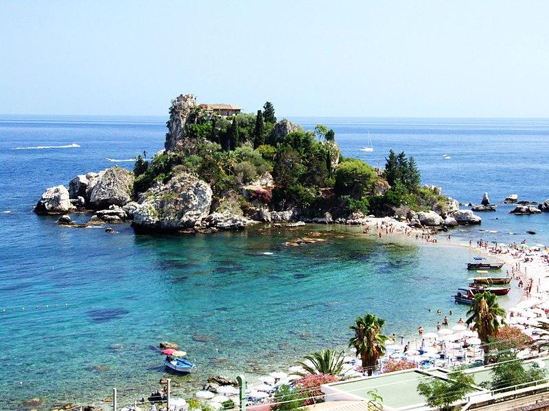 File:Isola Bella-Taormina-Messina-Sicilia-Italy - Creative Commons by gnuckx (3811721526).jpg