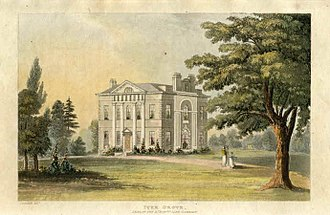 James Gambier, 1st Baron Gambier - Iver Grove, Gambier's home in Buckinghamshire