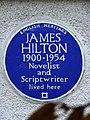 JAMES HILTON 1900-1954 Novelist and Scriptwriter lived here.jpg