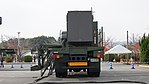 JASDF MIM-104 Patriot PAC-2 Electric Power Plant(Nissan Diesel Big Thumb, 49-0182) behind view at Kasuga Air Base November 25, 2017.jpg