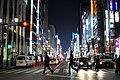JP-13 Ginza street after dark.jpg