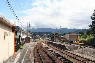 Izumo Yokota Station Railway station in Okuizumo, Shimane Prefecture, Japan